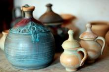 Rumunia, Ceramika wyrabiana przez Daniela Les, fot. Mariusz Raniszewski [CC BY-SA 4.0], via Wikimedia Commons